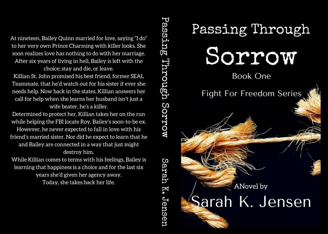 Passing Through Sorrow front and back1
